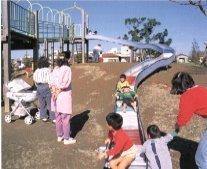 大師公園のローラーすべり台,アスレチック,神奈川,