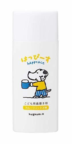 はぐくみプラス はっぴーす 30日分 子供用歯磨き粉 無添加 虫歯予防 口臭予防 口内善玉菌,赤ちゃん歯磨き粉,