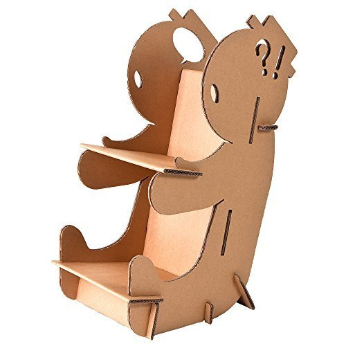 FunnyPaper(ファニーペーパー) Reading Baby 段ボール本棚 24×33×54cm TKST_101,絵本,収納,