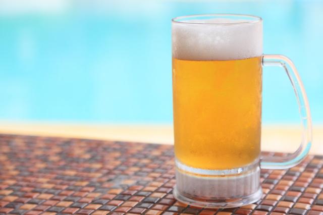 ビールがおいしい夏,妊娠中,飲み物,