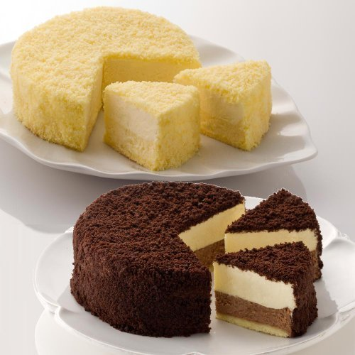 ルタオ (LeTAO) チーズケーキ ドゥーブルフロマージュとショコラドゥーブル 【Amazon.co.jp 限定】お試しセット,内祝い,食べ物,