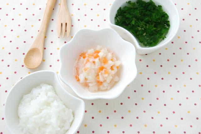 離乳食中期 献立例,離乳食,野菜,