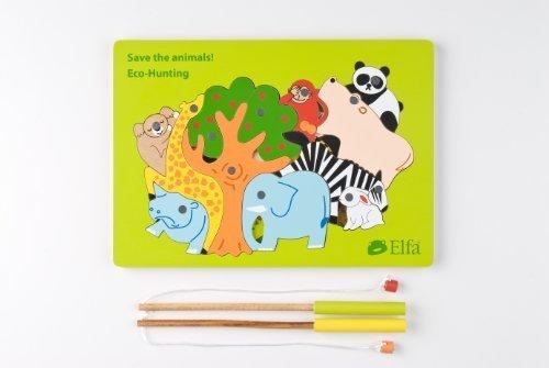エルファ エコ・ハンティング EL002,知育玩具,2歳,