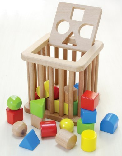 木製おもちゃのだいわ 積木 バスケット,知育玩具,2歳,