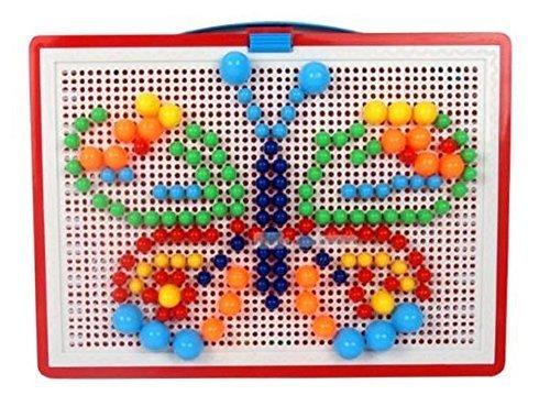 ペグボード パズル (ペグ 296個),知育玩具,2歳,