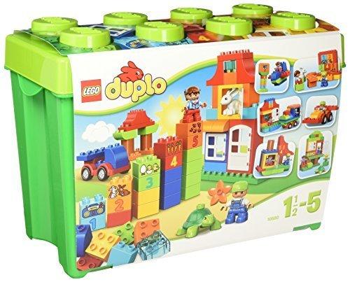 レゴ (LEGO) デュプロ みどりのコンテナスーパーデラックス 10580,知育玩具,2歳,