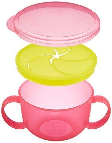 リッチェル Richell こぼれないボーロカップ ピンク,赤ちゃん,お菓子,