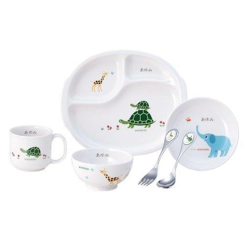 【名入れ】お食い初め 離乳食 ベビー食器 陶器 食器セット 【アッコトト はじめてごはんセット】,出産,祝い,食器
