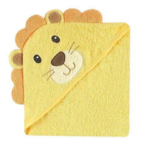 Luvable Friends ラバブルフレンズ Animal Face Hooded Towel アニマル フェイス フード付きバスタオル Lion ライオン,バスローブ,子供,