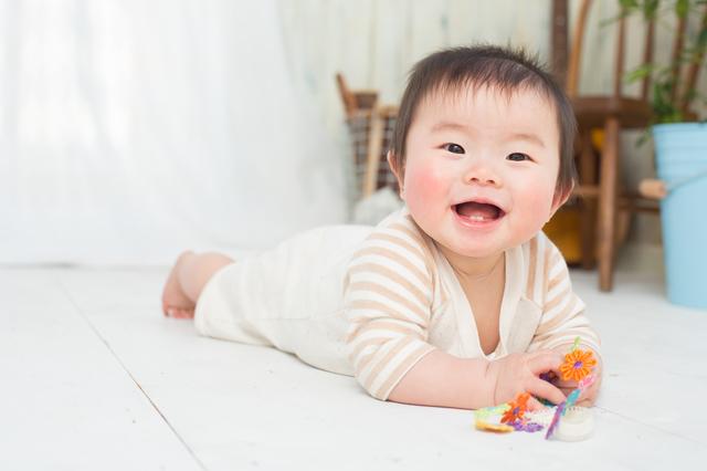 赤ちゃん笑う,赤ちゃん,5ヶ月,