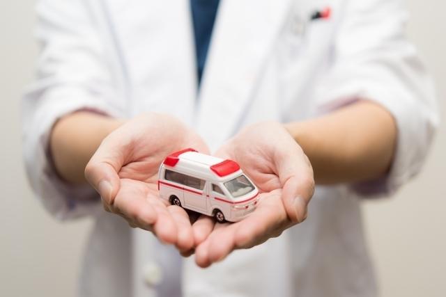 救急車の写真,生後,8ヶ月,赤ちゃん
