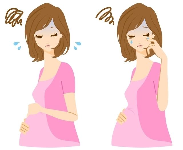 マタニティブルーイメージ,妊娠2ヶ月,症状,