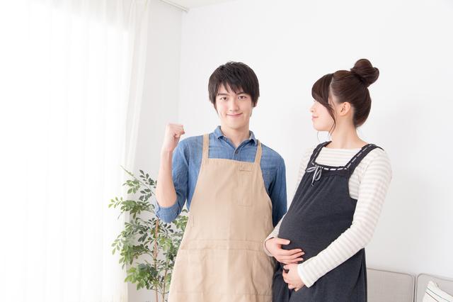 パパ家事イメージ,妊娠,8,ヵ月