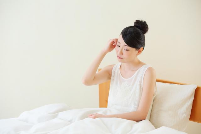 不眠に悩む女性,妊娠,10ヶ月,赤ちゃん