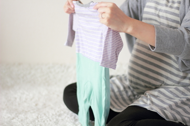 赤ちゃんグッズの用意,妊娠,10ヶ月,赤ちゃん