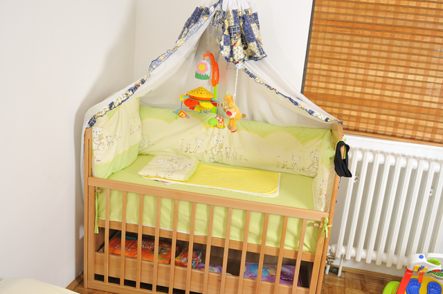 ベビーベッドの用意,妊娠,10ヶ月,赤ちゃん