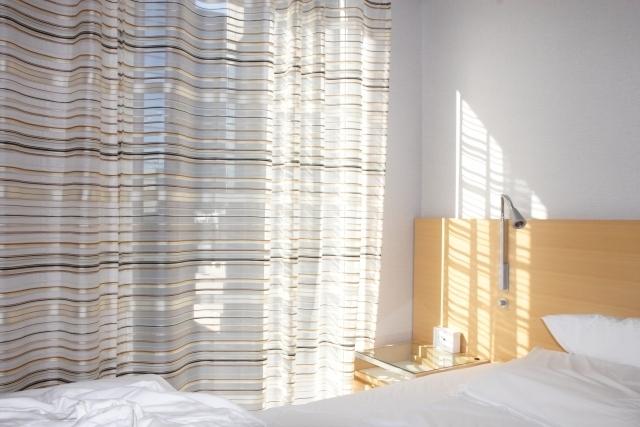 朝日の射し込む寝室,生後,3ヶ月,赤ちゃん