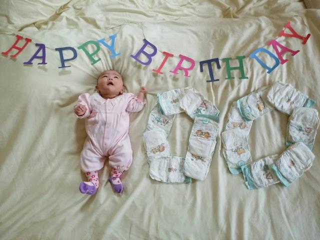 生後100日,生後,3ヶ月,赤ちゃん