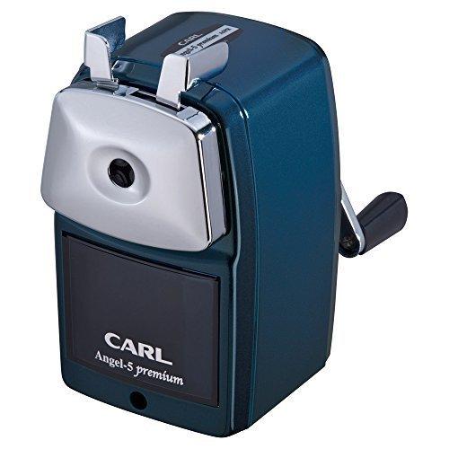 カール事務器 鉛筆削り エンゼル5 プレミアム ブルー A5PR-B,鉛筆削り,おすすめ,