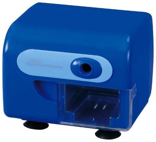レイメイ藤井 電動鉛筆削り 折芯除去機能付き ブルー RT453A,鉛筆削り,おすすめ,