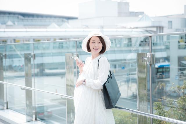 白いマタニティドレス,出産準備品,