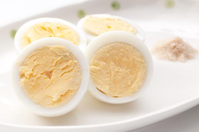ゆで卵,離乳食,卵,
