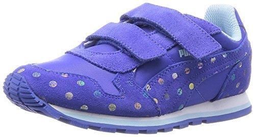 [プーマ] PUMA キッズスニーカー ST Runner Dotfetti V Kids 359826 01 (ダズリング ブルー/ダズリング ブルー/13.0),子ども,靴,