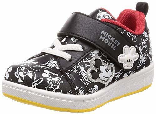 [ディズニー] 運動靴 ミッキー ミニー マジック 軽量 15-19cm 2E キッズ DN C1228 ブラック 16.0 cm,子ども,靴,