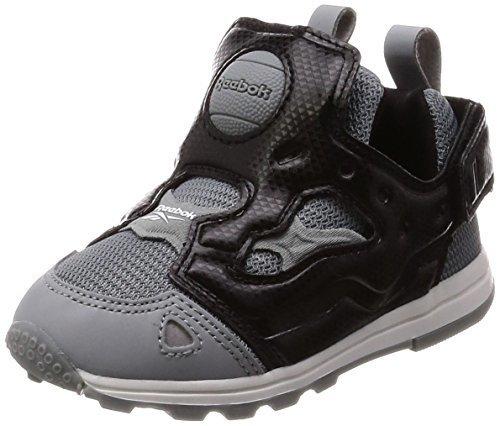 [リーボック] スニーカー バーサ ポンプ フューリー SYN GP ブラック/フリントグレー/ホワイト (CM9176) 15.0(15 cm),子ども,靴,