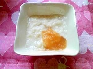 <離乳食初期>りんごパン粥,離乳食,パン,