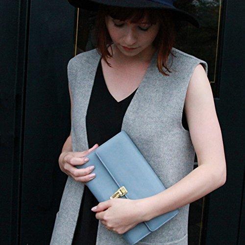 母子手帳ケース ジャバラ 2人用 (BLUE) リッタグリッタ 母子手帳クラッチ,母子手帳ケース,ジャバラ,