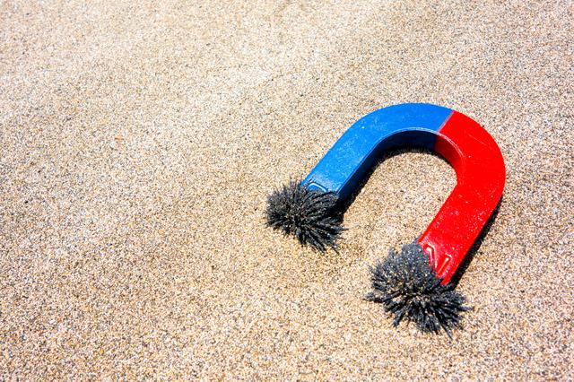 砂鉄,自由研究,簡単,