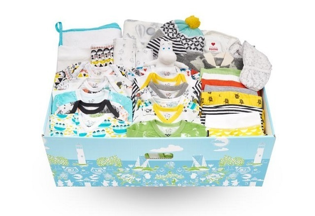 FINNISH BABY BOX2,出産準備,