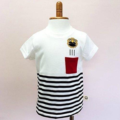 NHKノージーのひらめき工房 ボーダーTシャツ 100,ノージーのひらめき工房,