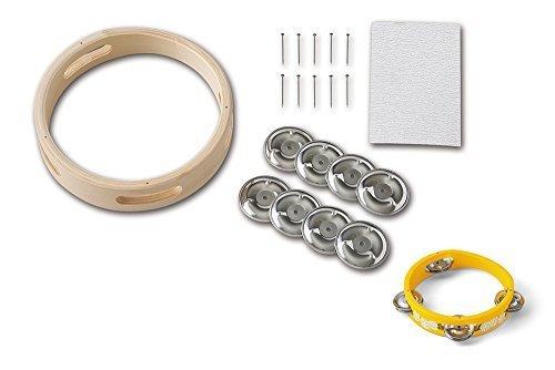 SUZUKI スズキ 手づくり楽器シリーズ タンブリンキット TBK-1,手作り,楽器,