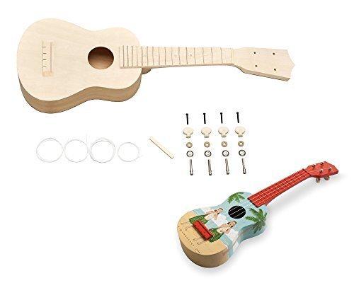 SUZUKI スズキ 手づくり楽器シリーズ ウクレレキット UKK-2,手作り,楽器,