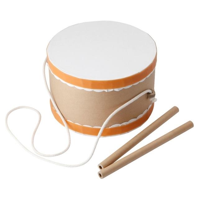 じぶんでつくる楽器・紙のたいこ,手作り,楽器,