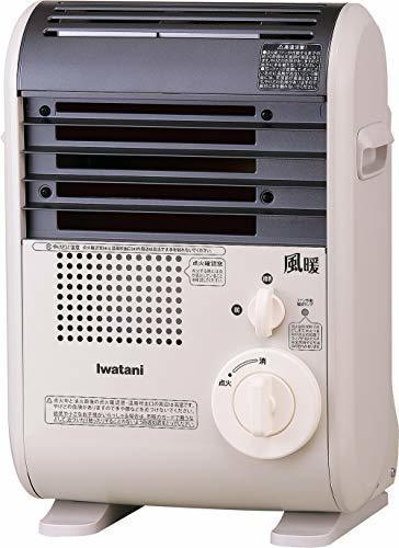 イワタニ カセットガスファンヒーター 風暖(KAZEDAN) コードレスファンヒーター 暖房機 CB-GFH-2 ウォームホワイト,暖房器具,おすすめ,