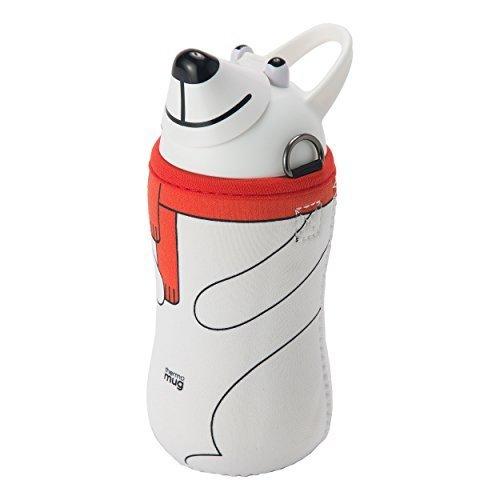 thermo mug(サーモマグ) アニマルボトル ホワイト(ポーラーベア),幼稚園,水筒,