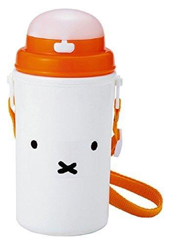 クツワ miffy(フェイス) ストロー付き保冷ボトル,幼稚園,水筒,