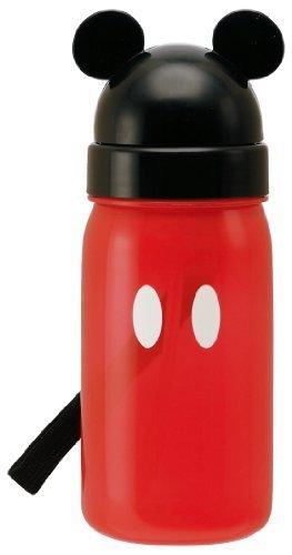 スケーター ダイカット ストロー式 水筒 350ml ミッキーマウス ディズニー PBS3ST,幼稚園,水筒,