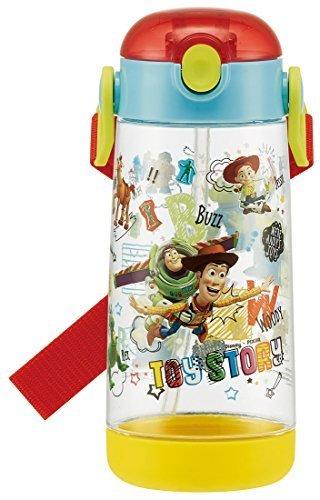スケーター 子供用 水筒 クリアボトル ストロー トイ・ストーリー ディズニー PDSH5,幼稚園,水筒,