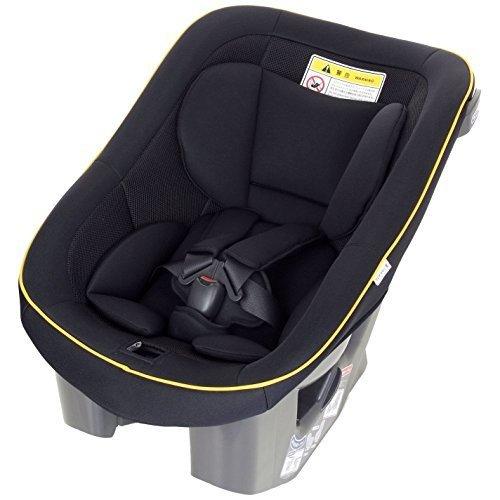【Amazon.co.jp限定】タカタ 04ビーンズ シートベルト固定チャイルドシート(0~4歳向け) ブラック/オレンジ TKAMZ-001,チャイルドシート,おすすめ,