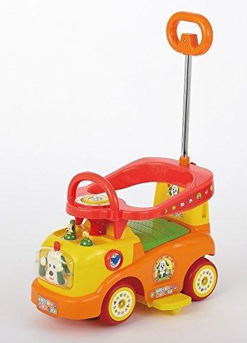 押し手付乗用 ワンワンとうーたん♪らくらくキャスターα,1歳,おもちゃ,