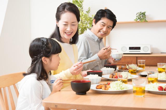 家族の食事風景,乳歯,保存,ケース