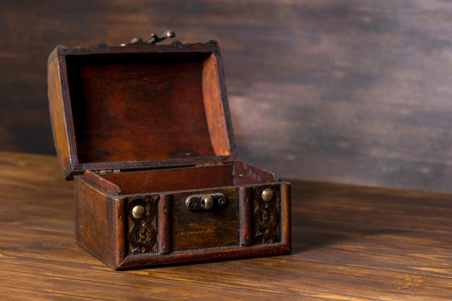木箱イメージ,乳歯,保存,ケース