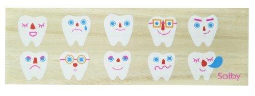 ソルビー(Solby) 乳歯ケース たまて歯庫 (日付/名前記入用アクリル板付) 桐箱製 防虫効果 NZSB102001,乳歯,保存,ケース