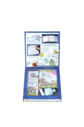 ベビートゥースアルバム Tooth Fairy Kit 乳歯ケース付きおまじないキット Blue bta0003-01,乳歯,保存,ケース