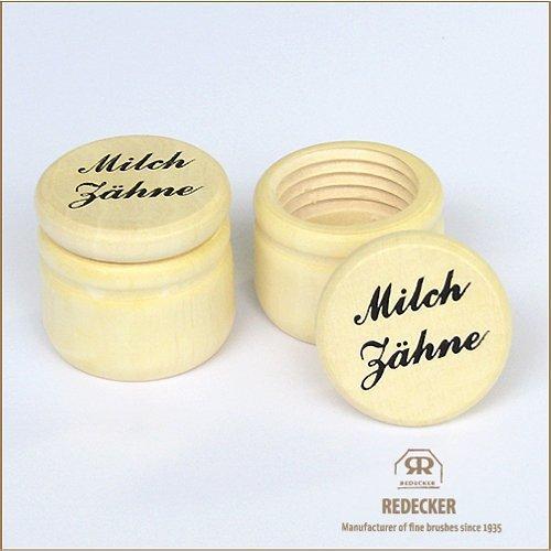 レデッカー(REDECKER) 乳歯入れ ドイツ語 3.5cm 750055,乳歯,保存,ケース