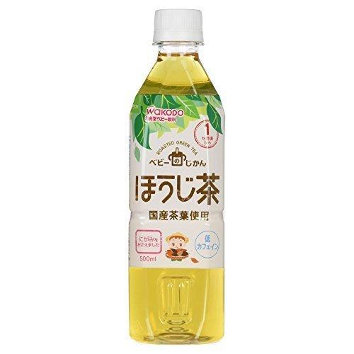 和光堂 ベビーのじかん ほうじ茶 500ml,ほうじ茶カフェイン,
